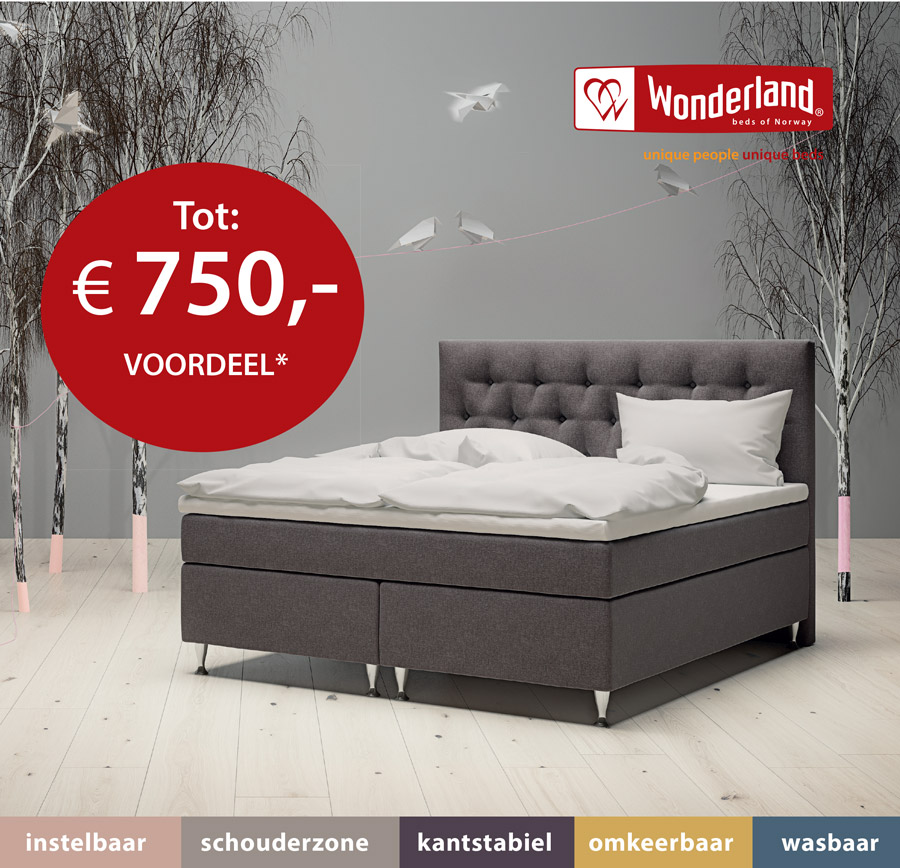 Wonderland Winter Sale Actie | BEDTIME Essen Edegem